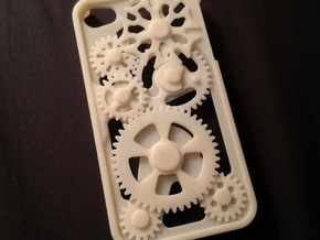 iPhone 4/4S Gear Case in White Natural Versatile Plastic