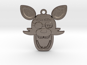 Five Nights at Freddy's Foxy Pendant in Stainless Steel