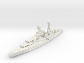 1/2400 USS South Dakota BB (1920) in White Strong & Flexible