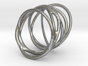 Ring of Rings No.3 in Natural Silver