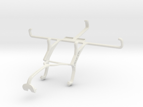Controller mount for Xbox 360 & Spice N-300 in White Natural Versatile Plastic