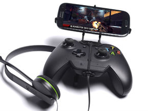 Xbox One controller & chat & verykool s6001 Cyprus in Black Natural Versatile Plastic