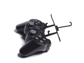 PS3 controller & XOLO Win Q1000 - Front Rider in Black Natural Versatile Plastic