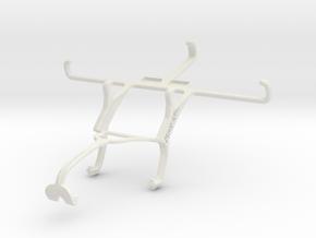 Controller mount for Xbox 360 & XOLO Win Q1000 in White Natural Versatile Plastic