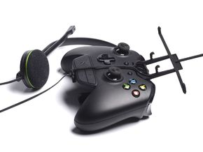 Xbox One controller & chat & ZTE V5 Lux - Front Ri in Black Natural Versatile Plastic
