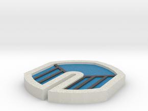 Zephyr Badge - Pokemon Johto Badges in Full Color Sandstone