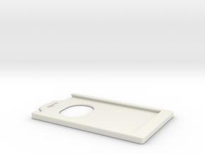 Badge Holder in White Natural Versatile Plastic