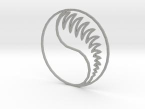 Aes Sedai Insignia - Outline in Metallic Plastic