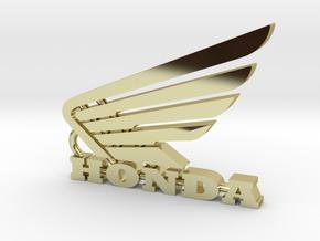 Honda Keychain Pendant  in 18k Gold Plated Brass
