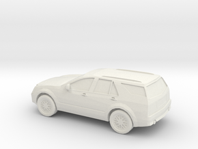 1/87 2008 Cadillac SRX in White Natural Versatile Plastic