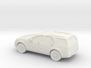 1/87 2008 Cadillac SRX in White Natural Versatile Plastic