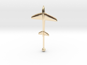 Windthos 60mm in 14K Yellow Gold