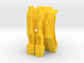 TriGlav - Add on kit for Customatron Landformer in Yellow Strong & Flexible Polished