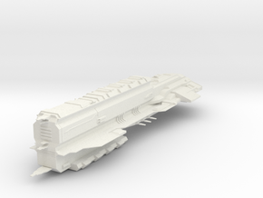 HvyDestroyer IV in White Natural Versatile Plastic