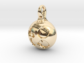 Sneezy in 14k Gold Plated Brass