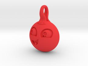 Cute in Red Processed Versatile Plastic