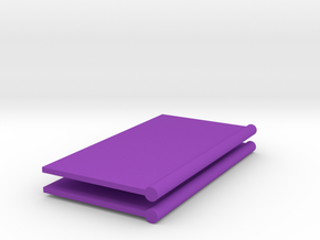 2 Sticks Butterdish Knives in Purple Processed Versatile Plastic