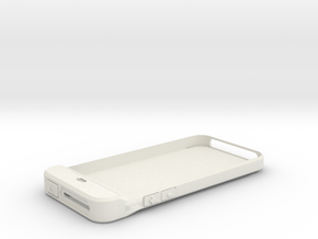 iPhone 5 Camera shutter - part1 in White Natural Versatile Plastic