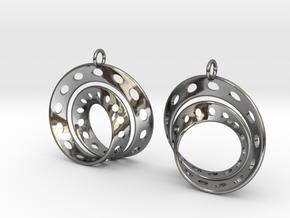 Fantasy-6-EarRings in Premium Silver