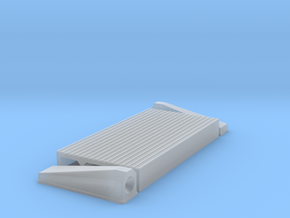 """1/16 Intercooler 24"""" Flow Length By 12"""" Wide in Smooth Fine Detail Plastic"""