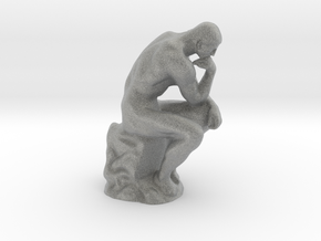The Thinker - Antiques in Metallic Plastic