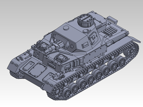 1/144 PzKpfw IV ausf.E Tropical type in Smooth Fine Detail Plastic