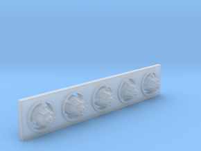 YT1300 DEAGO CORRIDOR LIGHTS  in Smooth Fine Detail Plastic