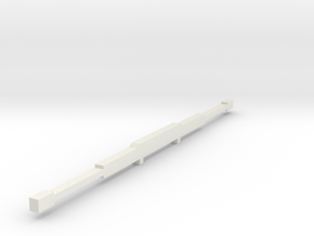 1/64 Light bar for New Holland and other 4wd tract in White Natural Versatile Plastic