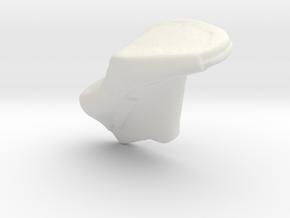 shoes shape in White Natural Versatile Plastic