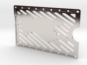 Card Wallet - Dog in Platinum
