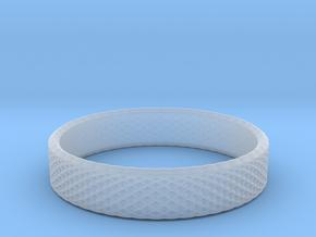 0220 Lissajous Figure Ring (Size12, 21.3 mm) #025 in Smoothest Fine Detail Plastic