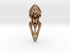 Dana Chula Pendant in Polished Brass