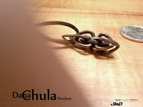 Dana Chula Pendant in Polished Bronze Steel