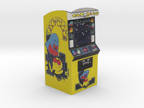 PacMan Arcade Game Pencil/Pen Holder in Full Color Sandstone