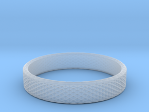 0225 Lissajous Figure Ring (Size14.5, 23.4 mm)#030 in Smoothest Fine Detail Plastic