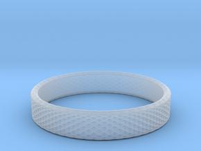 0226 Lissajous Figure Ring (Size15, 23.8 mm) #031 in Smoothest Fine Detail Plastic