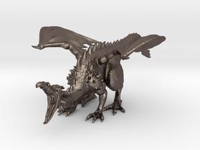 DragonRoar in Polished Bronzed Silver Steel
