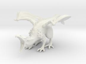 DragonRoar in White Natural Versatile Plastic