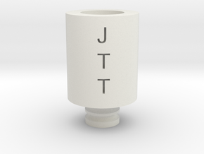 Drip Tip JTT in White Natural Versatile Plastic