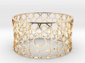 Bracelet Tivoli Byzanth in 14K Yellow Gold