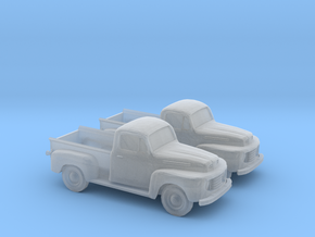 1/160 2X 1948-52 Ford Pickup in Frosted Ultra Detail