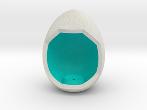 LuminOrb 2.5 - Egg Stand in Full Color Sandstone