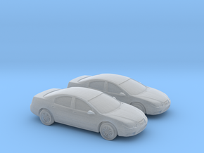 1/160 2X 1998 Chrysler 300M in Smooth Fine Detail Plastic