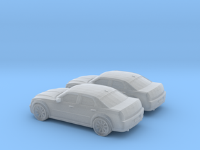 1/160 2X 2005 Chrysler 300 in Smooth Fine Detail Plastic