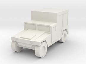 1/160 n-scale Humvee M1097 Maintance HMMWV Hummer in White Natural Versatile Plastic