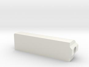 Ormerod 821 in White Natural Versatile Plastic