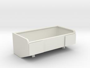 1/16 M50/51 large rear stowage bin in White Natural Versatile Plastic