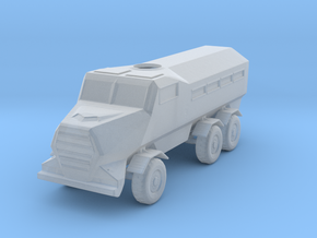 Mrap ver 22 casspir ver.2 in Smooth Fine Detail Plastic
