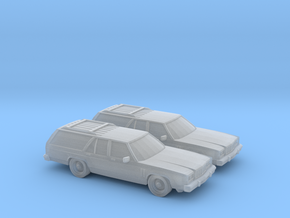 1/160 2X 1986 Mercury Colony Park in Smooth Fine Detail Plastic