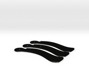 R.A.G.E- Wingstick (working boomerang) in Matte Black Steel